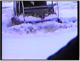 Escargo tracks in action during the winter  - film 11